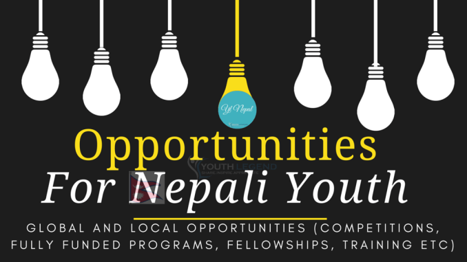 Opportunities for Nepali Youth