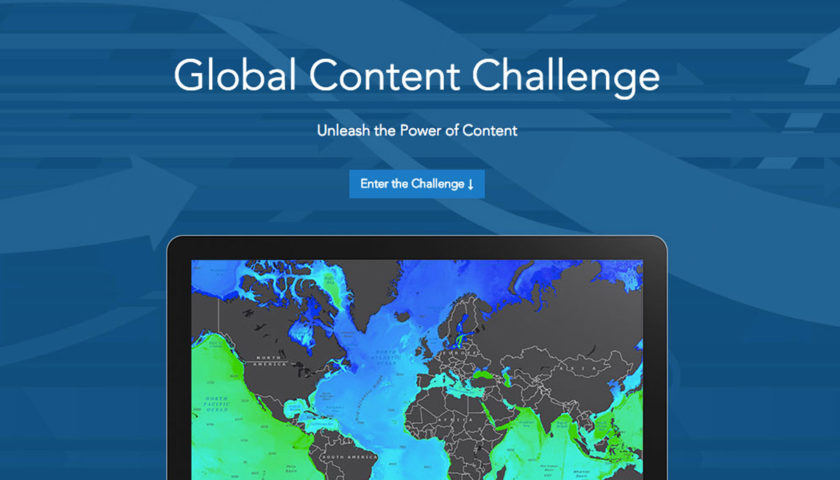 Esri's Global Content Challenge 2016