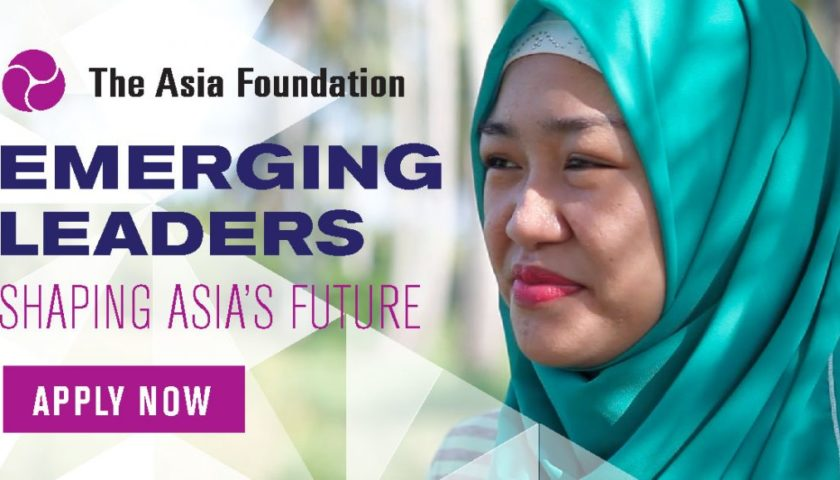 2017 Asia Foundation Development Fellows: Call for Applications