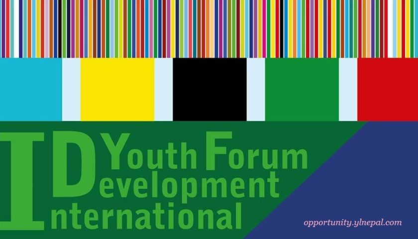 Application are now open for the International Development Youth Forum 2017 in Japan