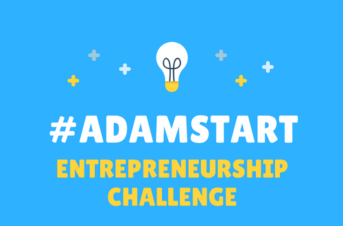 ADAMSTART ENTREPRENEURSHIP CHALLENGE 2016 (UP TO £1, 000 FOR WINNER)