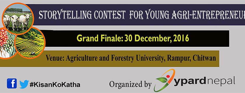 Storytelling Contest for Nepali Young Agri Entrepreneurs