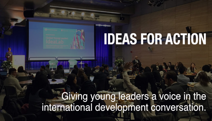 "World Bank ""Ideas for Action"" Global Competition 2017 for Young People Worldwide"