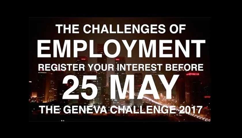 The Advancing Development Goals International Contest – Win A Trip To Geneva