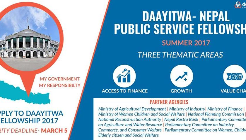 Application Open for DAAYITWA SUMMER FELLOWSHIP 2017