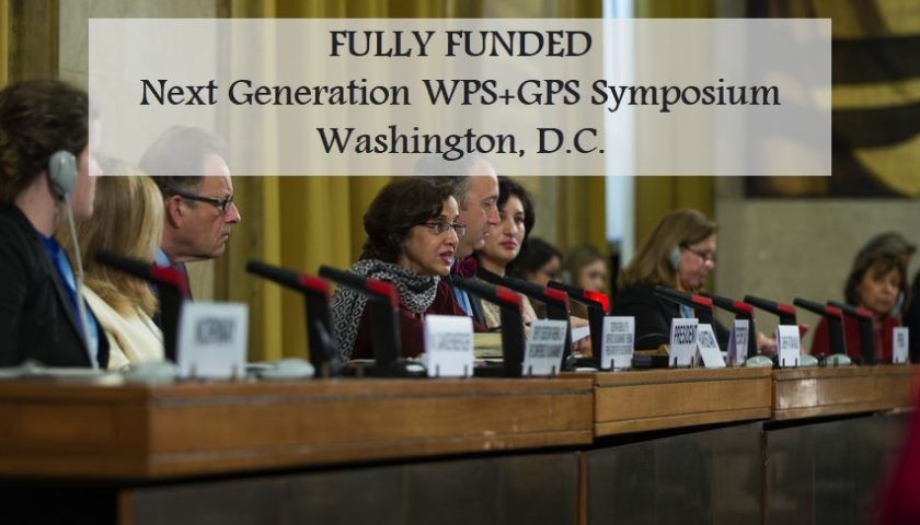 Fully Funded Symposium in Washington,D.C!