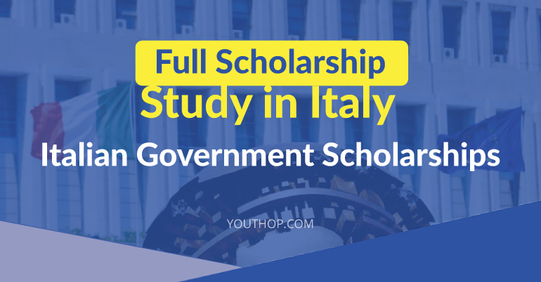 Study in Italy- FULL SCHOLARSHIP!
