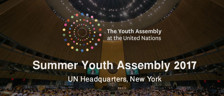 Summer Youth Assembly 2017 at UN Headquarters, New York