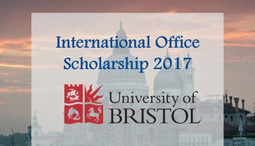 International Office Scholarship at the University of Bristol