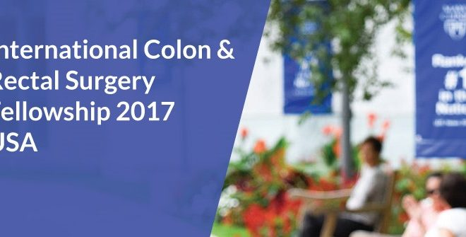International Colon and Rectal Surgery Fellowship 2017 in USA