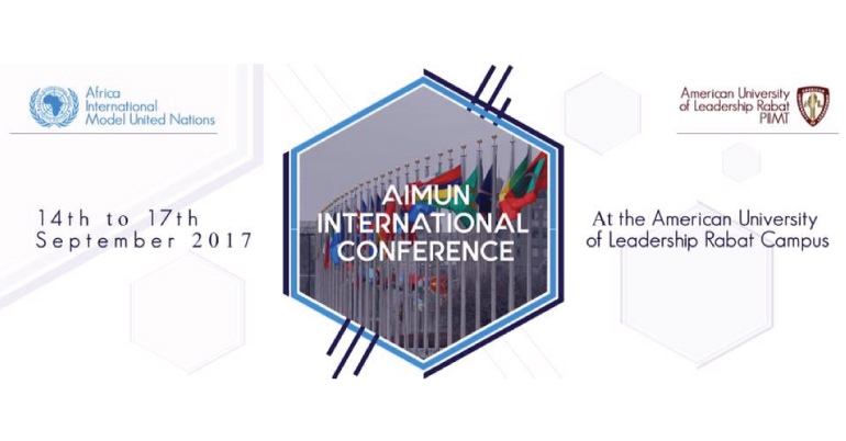 AiMUN International Conference 2017 in Morocco
