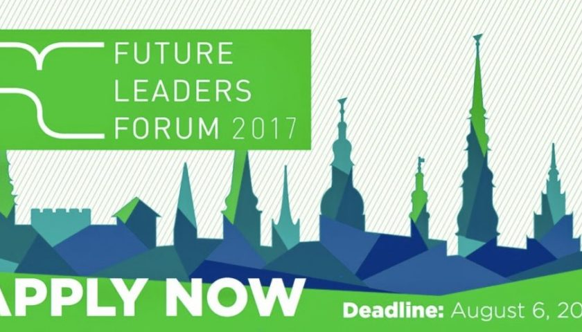 Rīga Conference Future Leaders Forum 2017 in Latvia