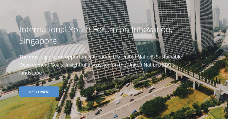 International Youth Forum on Innovation (IYFI) 2017 in Singapore