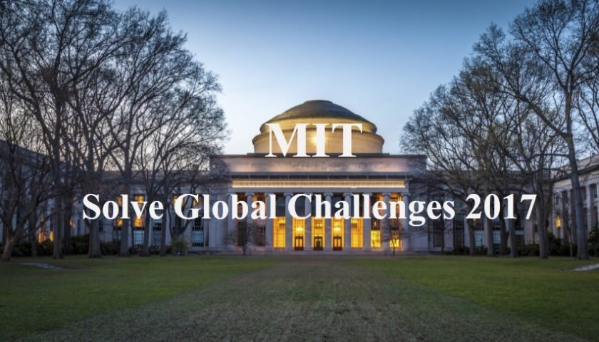 MIT's Solve Global Challenges 2017