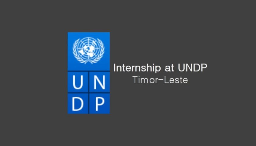 Internship at UNDP Timor-Leste: Anthropologist/ Sociologist/ Archeologist (International/National)