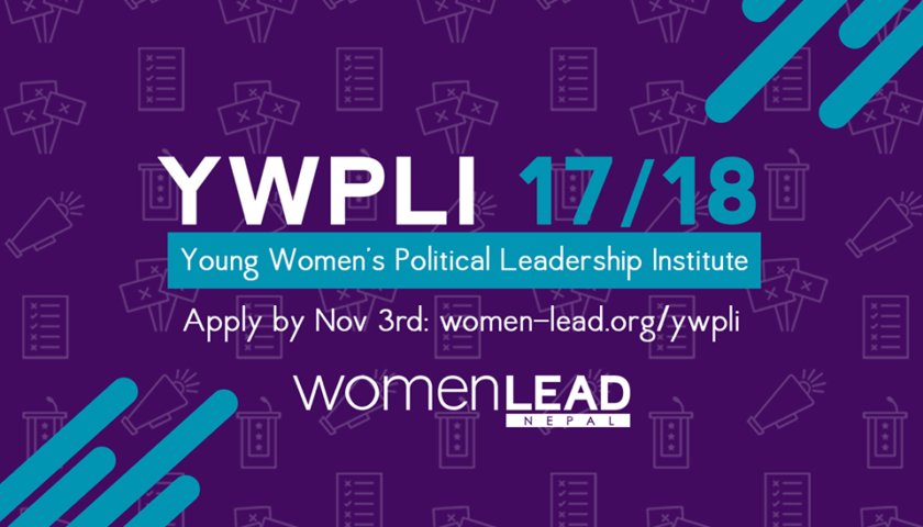 Young Women's Political Leadership Training BY Women LEAD Nepal