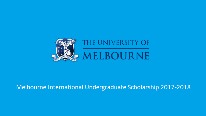 Melbourne International Undergraduate Scholarship 2018 in Australia
