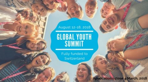 Global Youth Summit 2018 in Switzerland