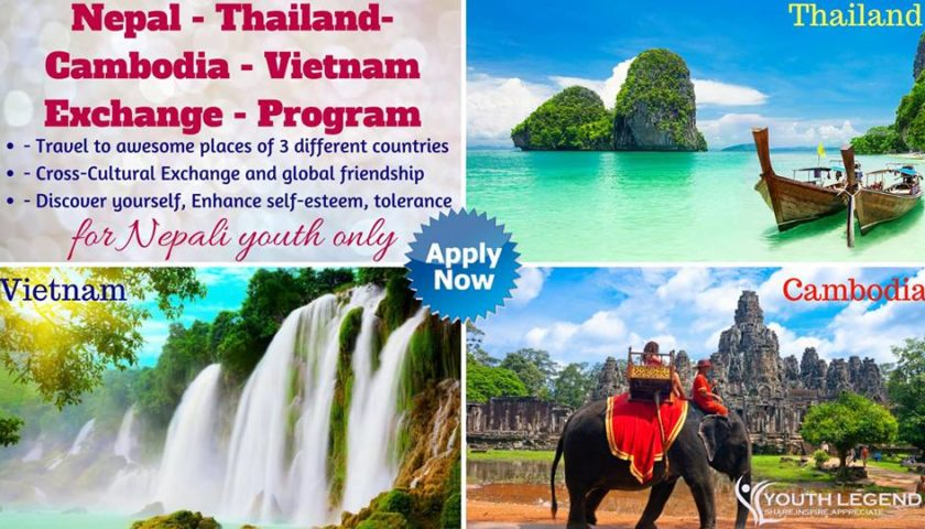 International Exchange 2018 – Nepal Thailand Vietnam Cambodia