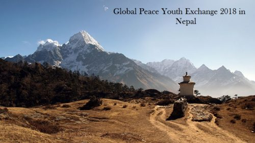 Global Peace Youth Exchange 2018 in Nepal
