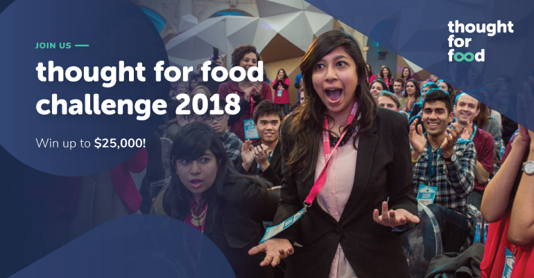 Thought for Food Challenge 2018