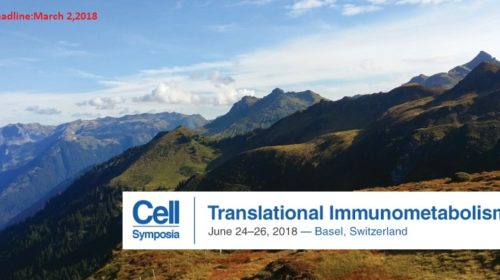 Translation Immunometabolism Conference 2018 in Switzerland