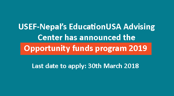 The Opportunity Funds Program 2019 at USEF-Nepal