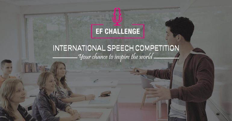 EF Challenge: International Speech Competition