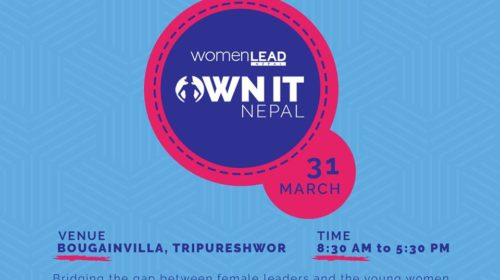 OWN IT Nepal:one-day leadership summit for youth