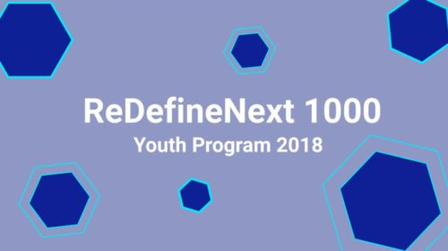 REDEFINE NEXT 100 YOUTH PROGRAM 2018