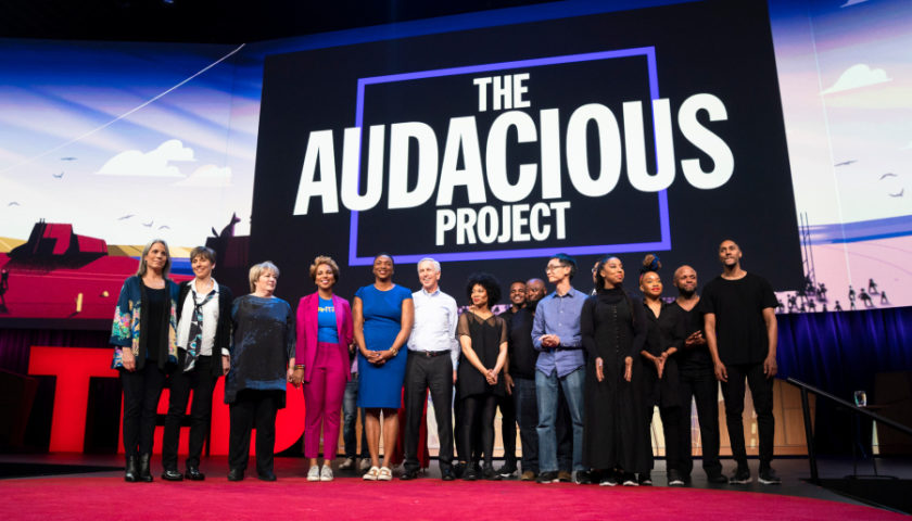 The Audacious Project 2018 by TED