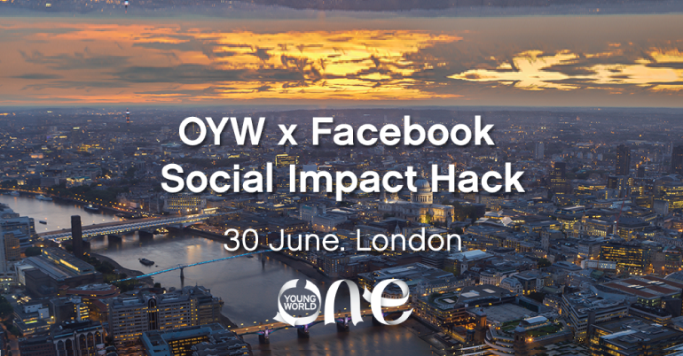 One Young World Social Impact Hack x Facebook in London
