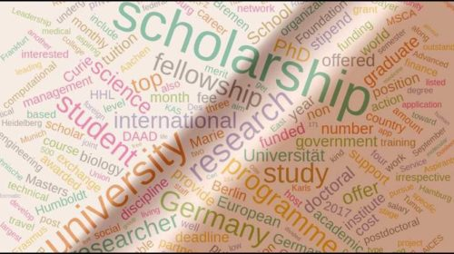 KAS Scholarships for International Applicants at Universities in Germany.