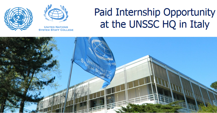 UNSSC Communications and Social Media Internship 2018 in Italy