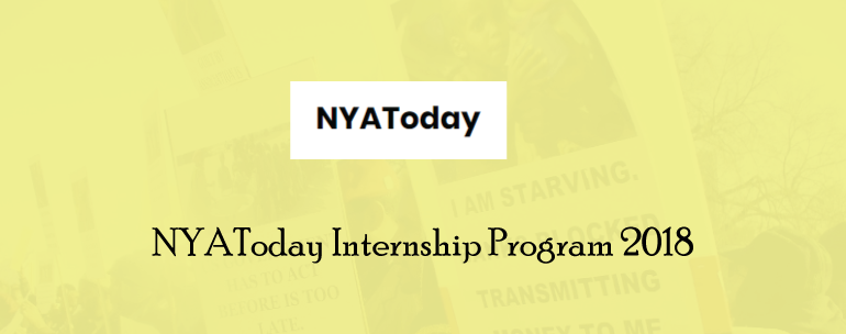 NYAToday Internship Program 2018