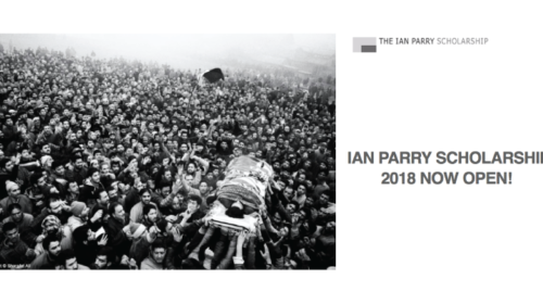 The Ian Parry Scholarship 2018