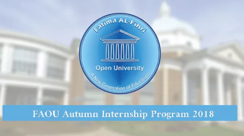 FAOU Autumn Internship Program 2018