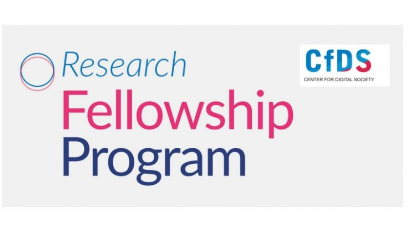 CENTER FOR DIGITAL SOCIETY RESEARCH FELLOWSHIP PROGRAM