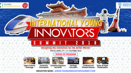 International Young Innovators Summit 2018 in Japan