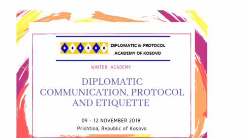 ACADEMY DIPLOMATIC COMMUNICATION PROTOCOL AND ETIQUETTE