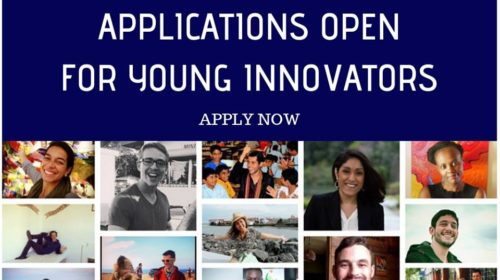 2019 Young Innovator Applications are open