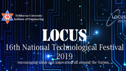 LOCUS 16TH NATIONAL TECHNOLOGICAL FESTIVAL