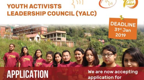 Application for Youth Activists Leadership Council (YALC)
